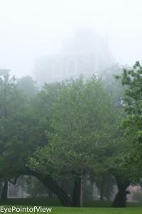 Jackson Towers Thru the Fog